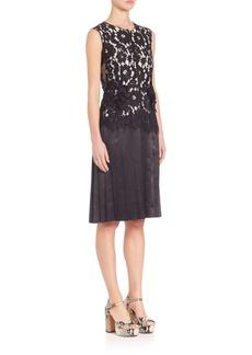 Marc Jacobs Sleeveless Lace Dress