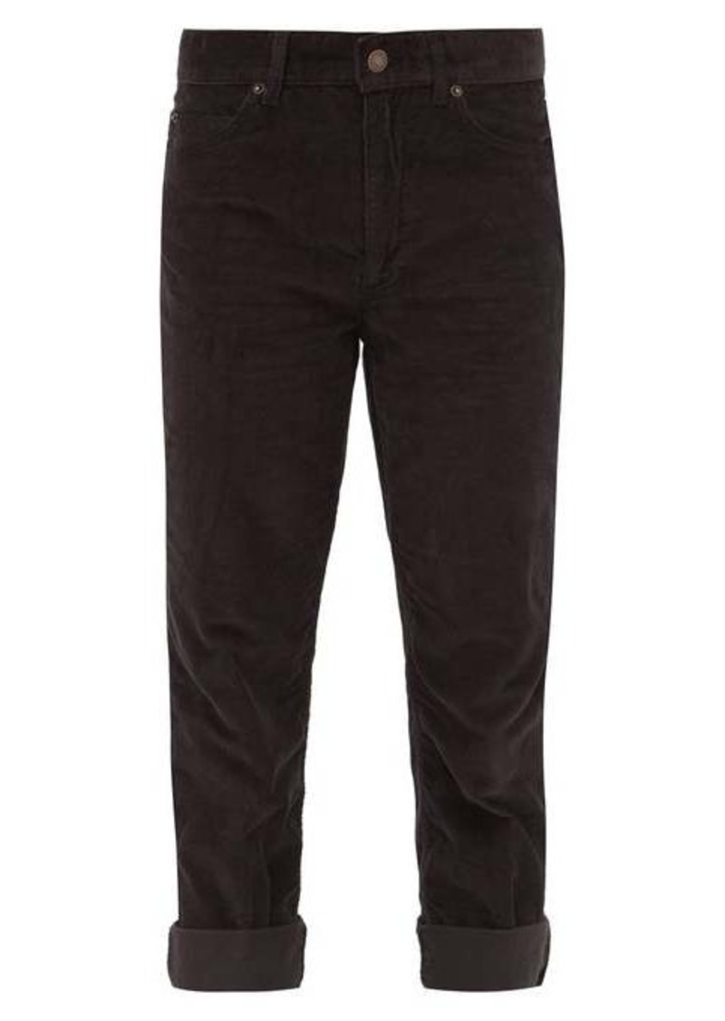 Marc Jacobs Slim-leg corduroy trousers