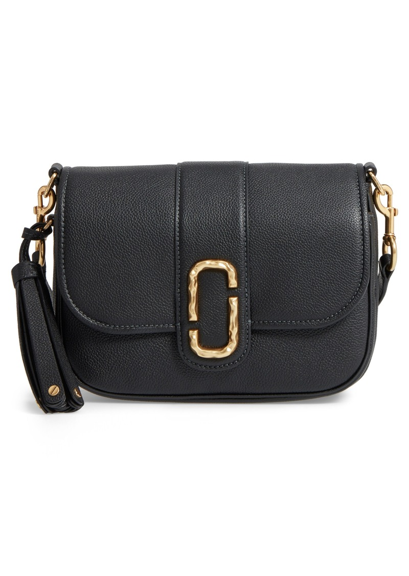 Marc Jacobs MARC JACOBS Small Courier Interlock Leather Crossbody ... 91c9522a43967