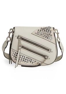 MARC JACOBS Small Nomad Studded Leather Crossbody Bag