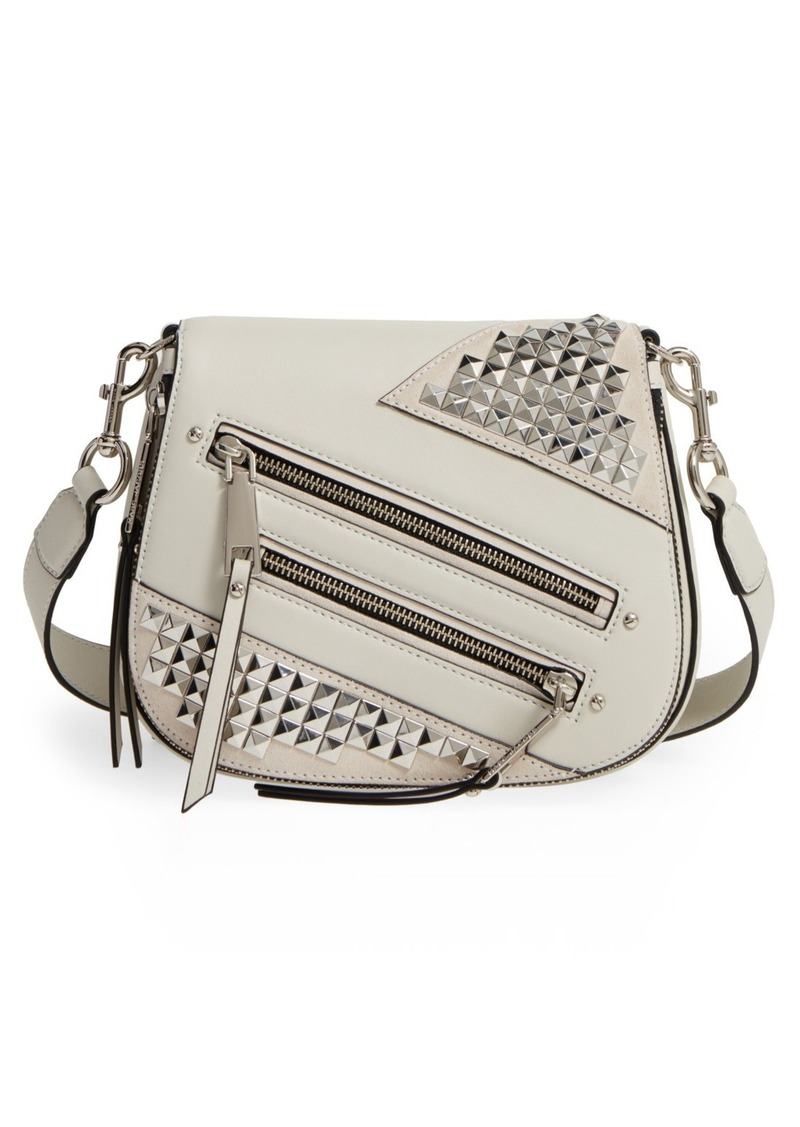 0200257aa9f8 Marc Jacobs MARC JACOBS Small Nomad Studded Leather Crossbody Bag ...