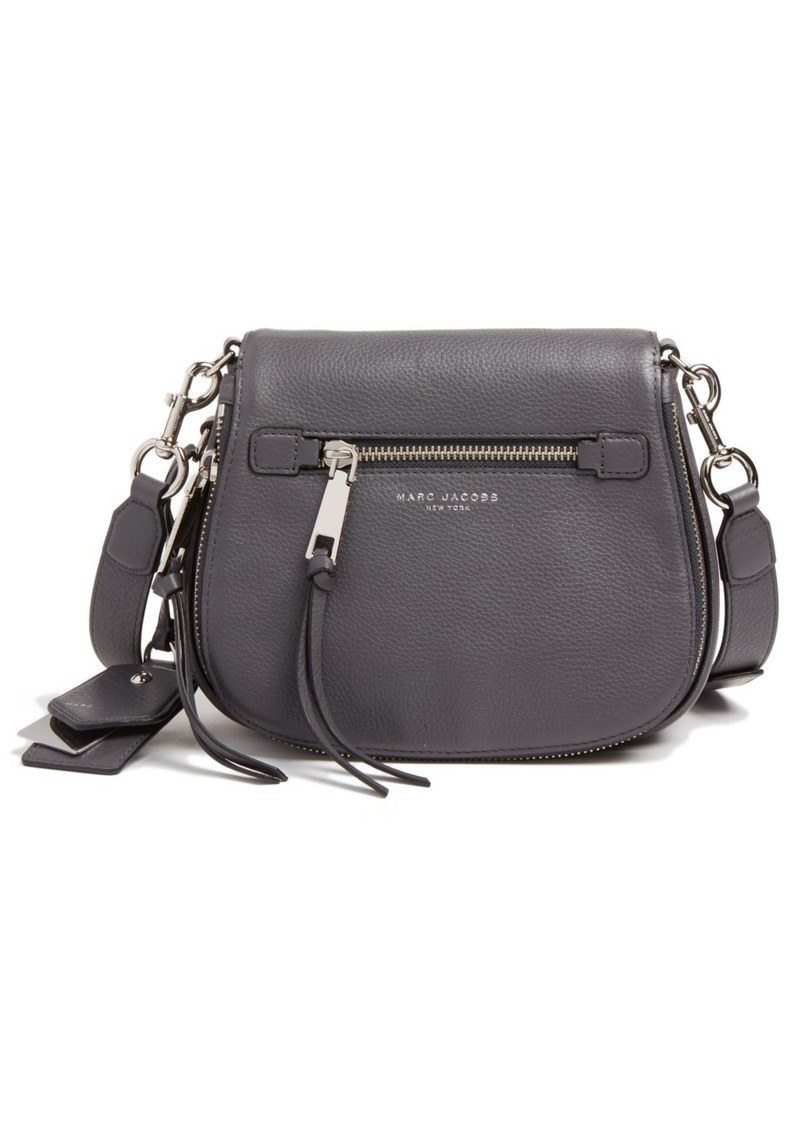 e7f7ead9061b Marc Jacobs MARC JACOBS Small Recruit Nomad Pebbled Leather ...