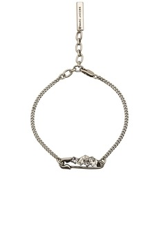 Marc Jacobs Small Strass Safety Pin Chain Bracelet