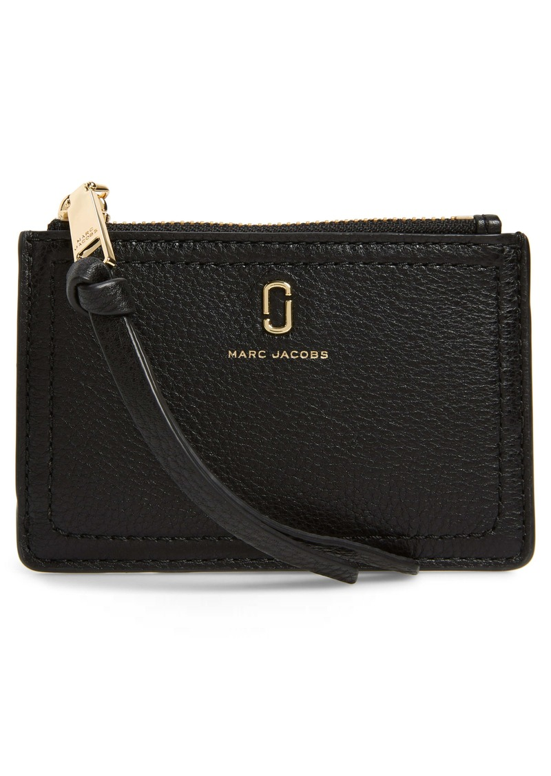 The Marc Jacobs Snapshot Leather Zip Wallet