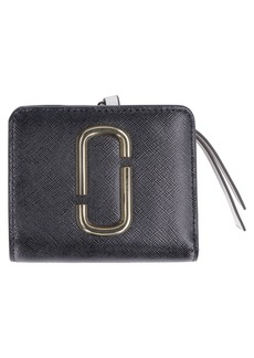 Marc Jacobs Snapshot Mini Two-tone Leather Wallet