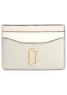 MARC JACOBS Snapshot Saffiano Leather Card Case