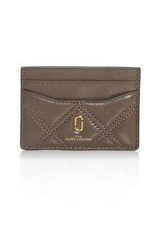 MARC JACOBS Softshot Quilted Card Case