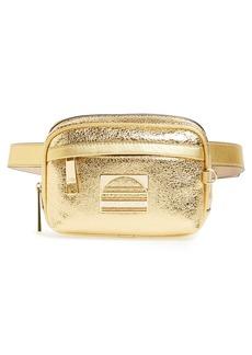 MARC JACOBS Sport Metallic Leather Belt Bag