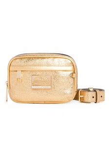 Marc Jacobs Sport Metallic Leather Belt Bag/Fanny Pack