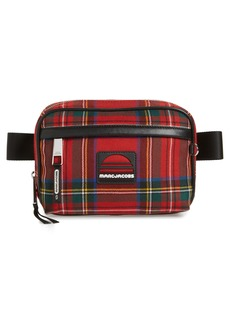 MARC JACOBS Sport Plaid Belt Bag