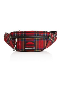 MARC JACOBS Sport Plaid Wool Belt Bag