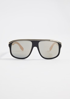 Marc Jacobs Sporty Aviator Sunglasses