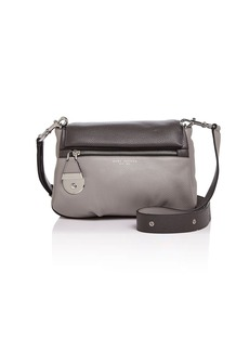 MARC JACOBS Standard Color Block Mini Leather Shoulder Bag