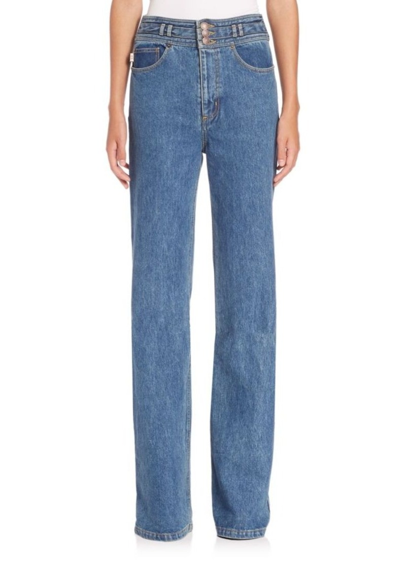 Marc Jacobs Star High-Rise Wide-Leg Jeans