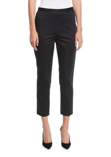 Marc Jacobs Stretch-Cotton Sateen Pants
