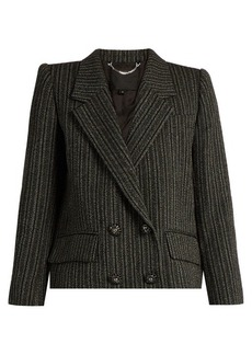 Marc Jacobs Striped double-breasted jacket