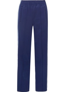 Marc Jacobs Striped Satin-jersey Track Pants