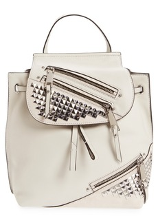 MARC JACOBS Studded Leather Backpack