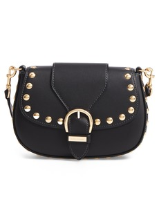MARC JACOBS Studded Navigator Leather Crossbody Bag