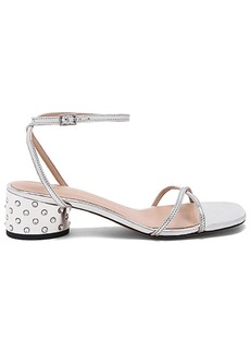 Marc Jacobs Sybil Sandal in Metallic Silver. - size 37.5 (also in 38,39,40)