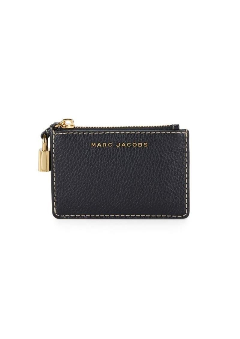 Textured-leather Wallet - Black Marc Jacobs uZjOjfk