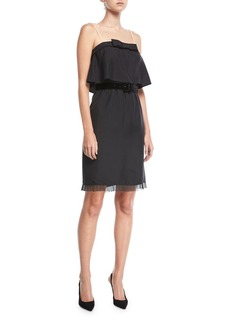Marc Jacobs Textured Silk Popover Dress
