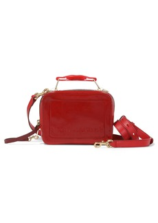 The Marc Jacobs The Box 20 Patent Leather Crossbody Bag