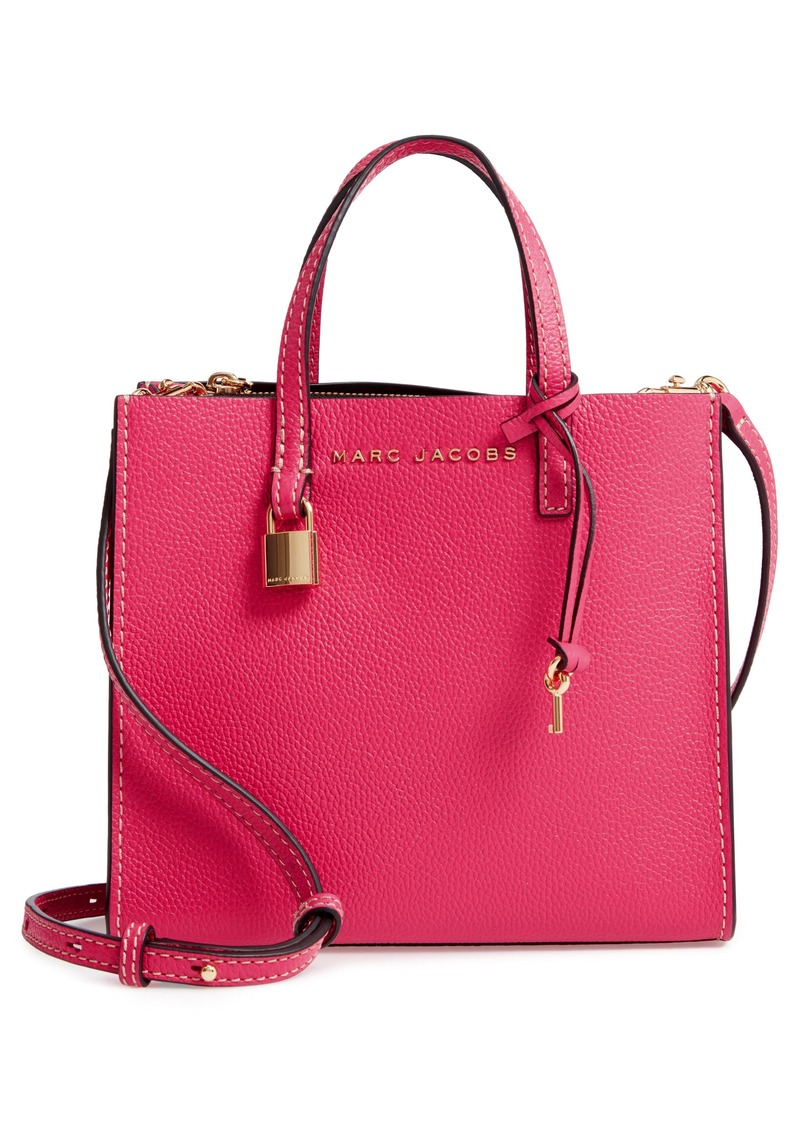 391b4aabfad Marc Jacobs MARC JACOBS The Grind Mini Colorblock Leather Tote ...