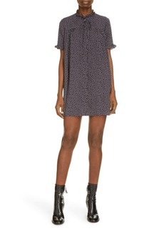 MARC JACOBS The Pajama Polka Dot Minidress