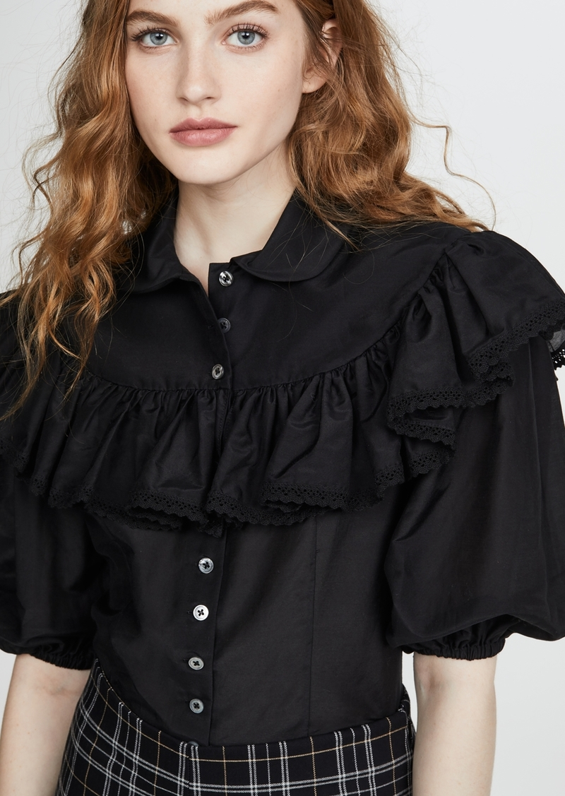 The Marc Jacobs The Ruffle Blouse