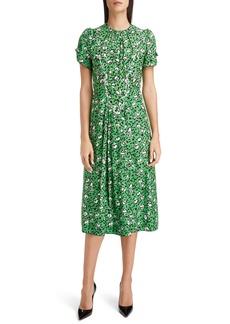 THE MARC JACOBS The Sofia Loves the 40s Silk Midi Dress