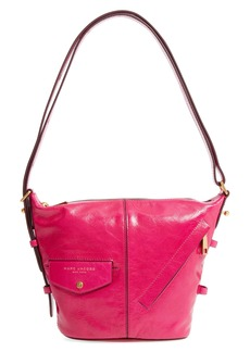 MARC JACOBS The Vintage Mini Sling Convertible Leather Hobo