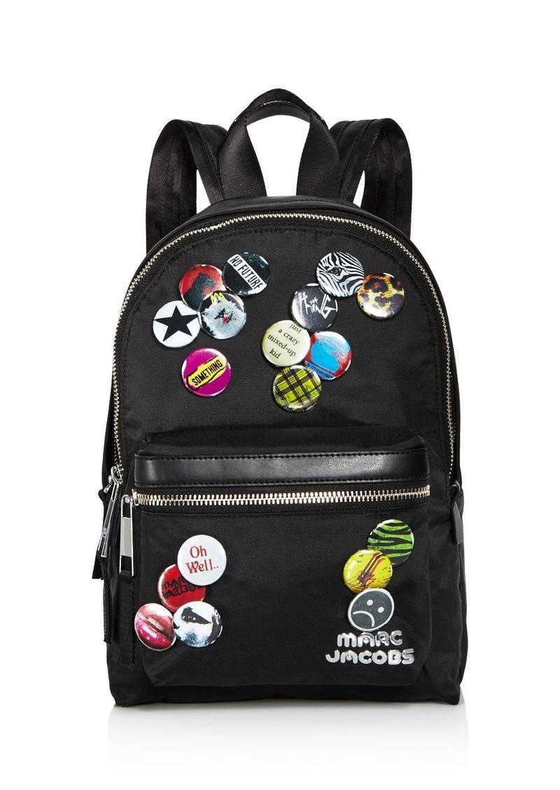 Marc Jacobs MARC JACOBS Trek Pack Badges Medium Backpack  1e2ecf6bf223e