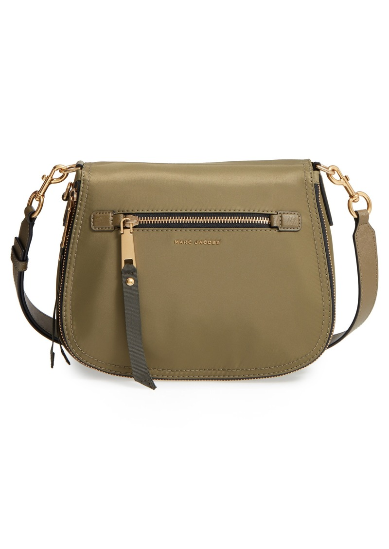 a66845f84665 Marc Jacobs MARC JACOBS Trooper Nomad Nylon Saddle Bag