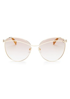MARC JACOBS Women's Marc Daisy Aviator Sunglasses, 59mm