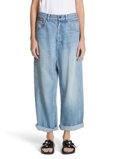 MARC JACOBS Wide Leg Carpenter Jeans (Vintage Indigo)