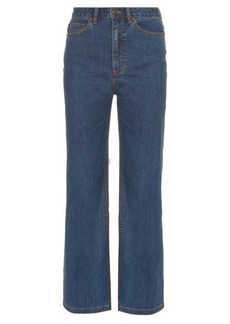 Marc Jacobs Wide-leg cropped jeans