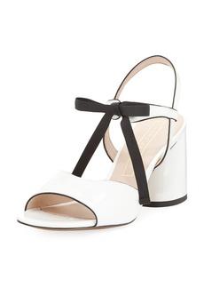 Marc Jacobs Wilde Tie Block-Heel Sandal