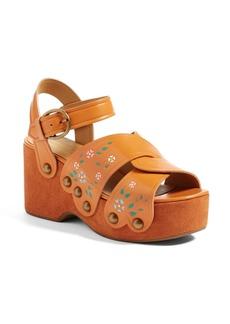 MARC JACOBS Wildflower Wedge Sandal (Women)