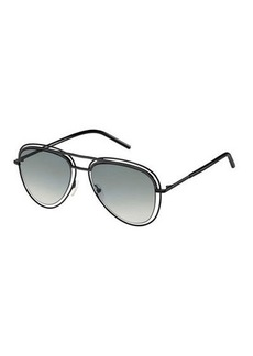 Marc Jacobs Wire-Rim Aviator Sunglasses