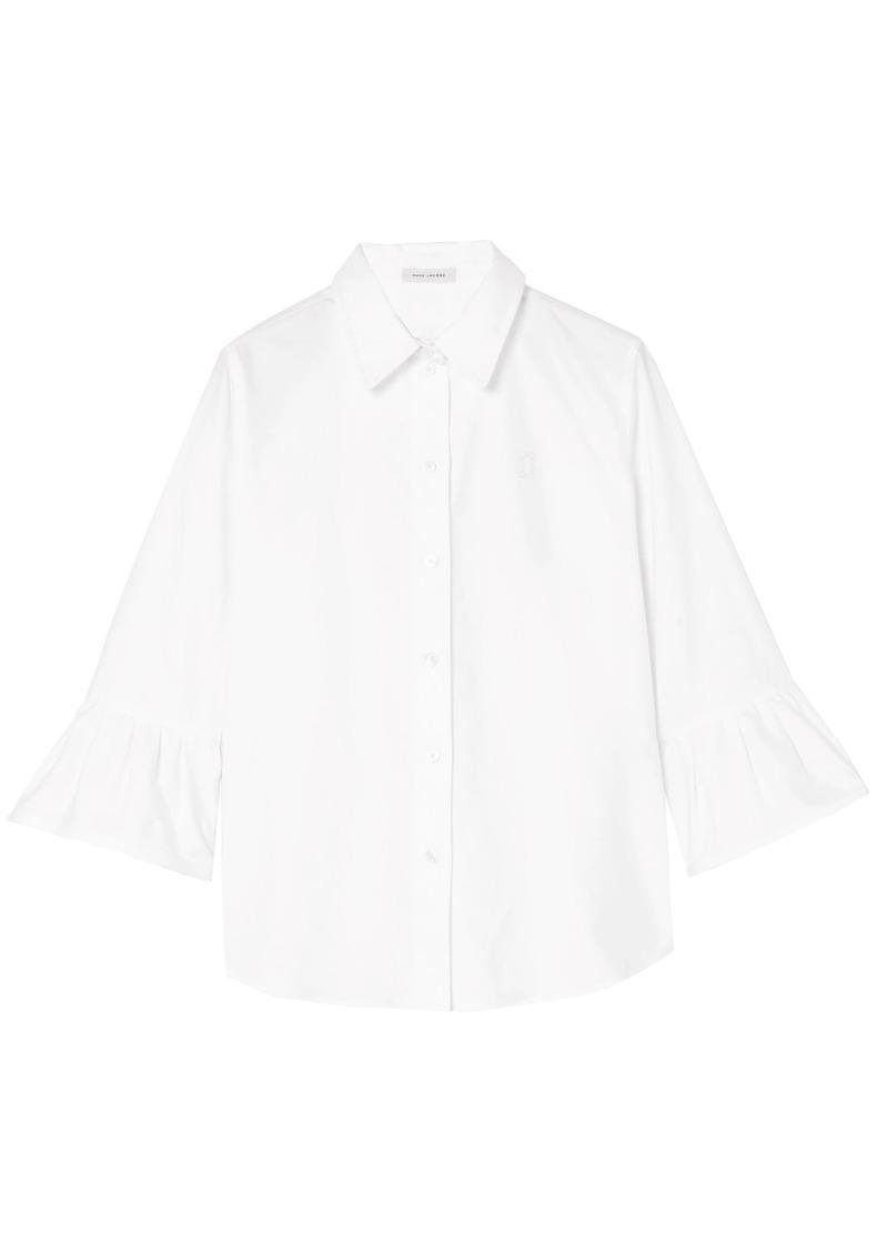 Marc Jacobs Woman Cotton Oxford Shirt White