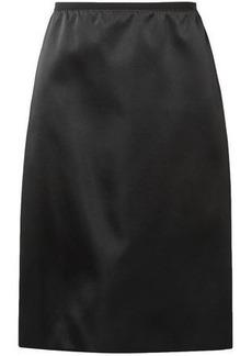 Marc Jacobs Woman Duchesse-satin Skirt Black