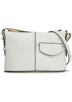 Marc Jacobs Woman Printed Textured-leather Shoulder Bag White