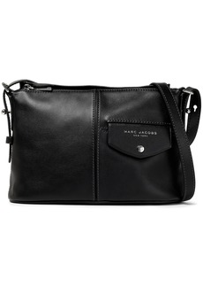 Marc Jacobs Woman Printed Textured-leather Shoulder Bag Black