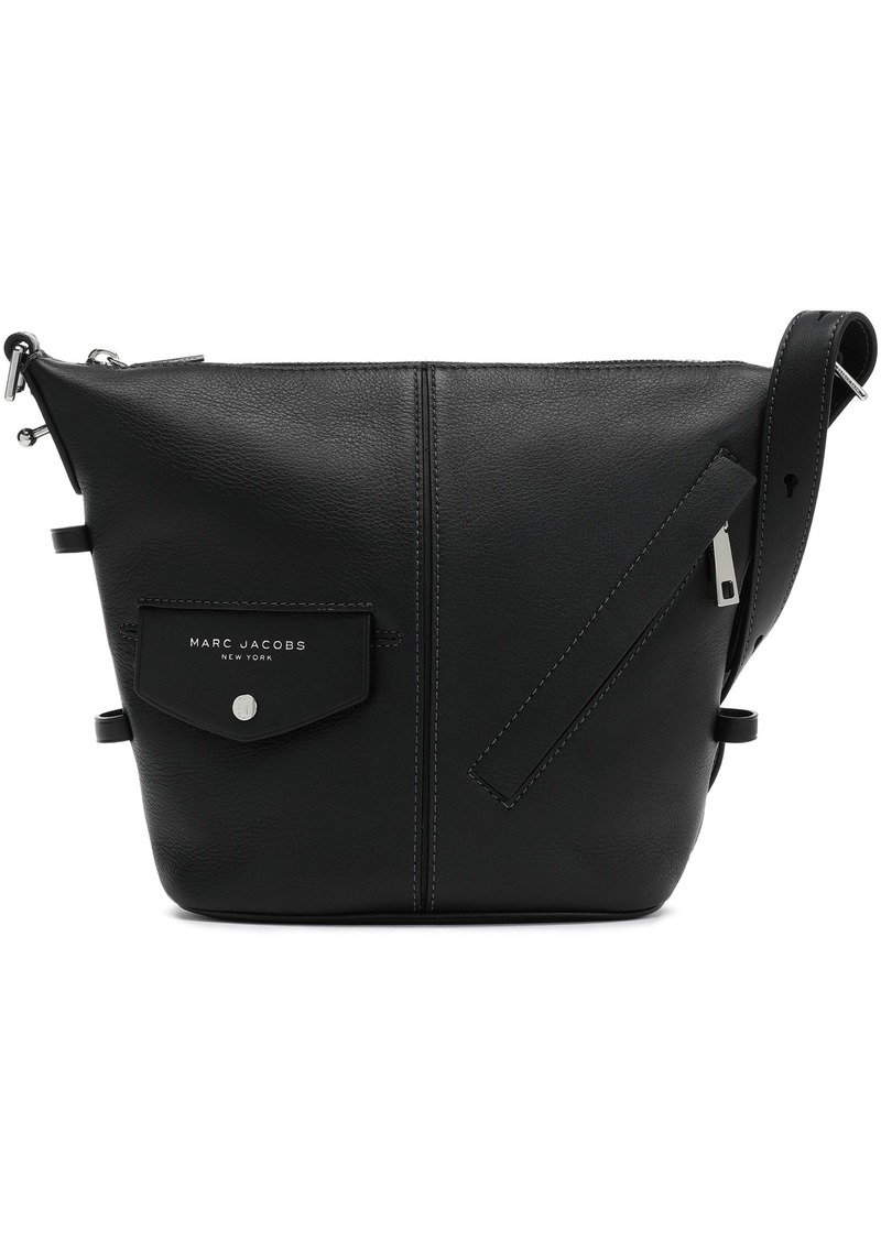 Marc Jacobs Woman The Mini Sling Leather Shoulder Bag Black