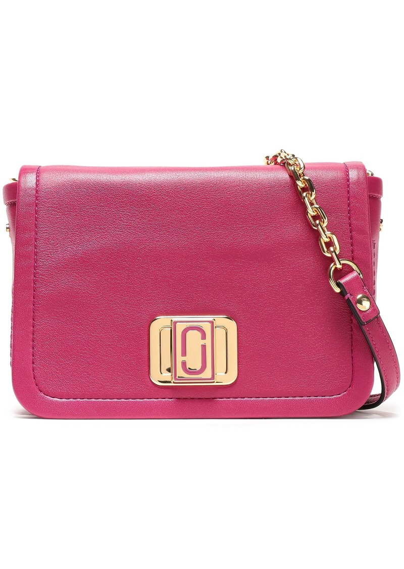 Marc Jacobs Woman Leather Shoulder Bag Magenta