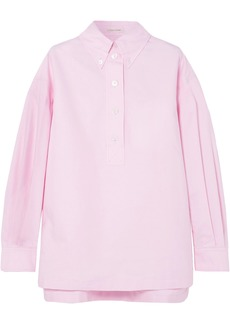 Marc Jacobs Woman Oversized Cotton Oxford Shirt Baby Pink