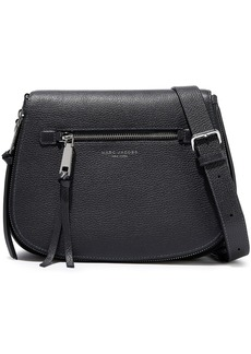 Marc Jacobs Woman Pebbled-leather Shoulder Bag Dark Gray
