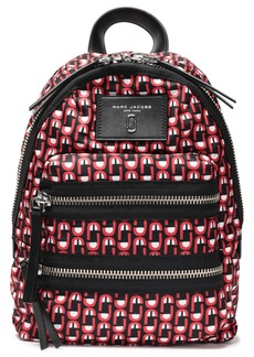 Marc Jacobs Woman Printed Shell Backpack Red