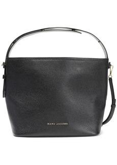 Marc Jacobs Woman Road Pebbled-leather Shoulder Bag Black